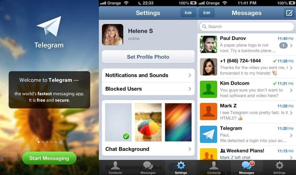download telegram messenger for android mobile